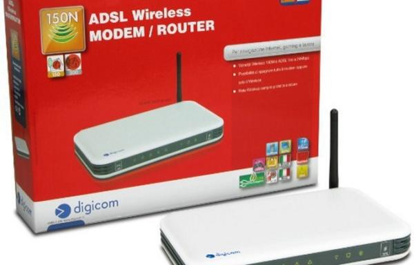 Modem/router ADSL Digicom