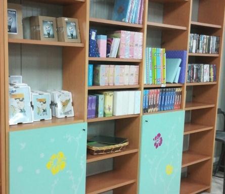 Libreria con ante