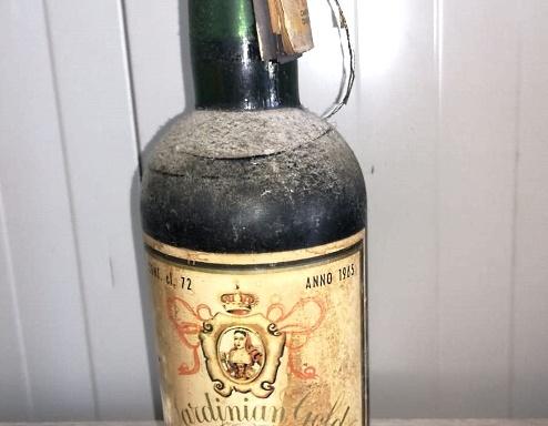 Bottiglia Vernaccia 1965
