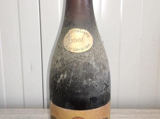 Bottiglia Grignolino 1961