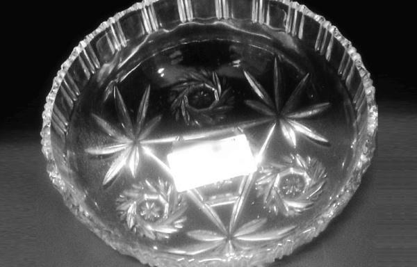 Centrotavola in cristallo