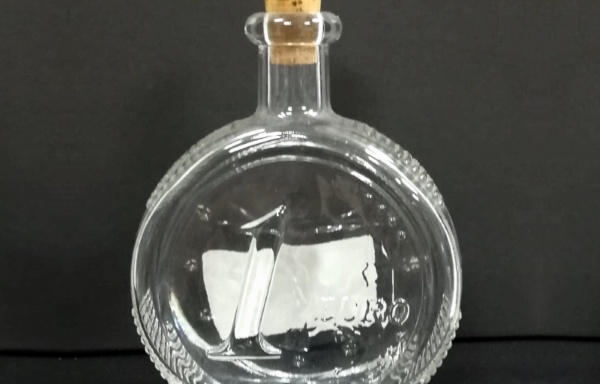 Bottiglia piccola con tappo