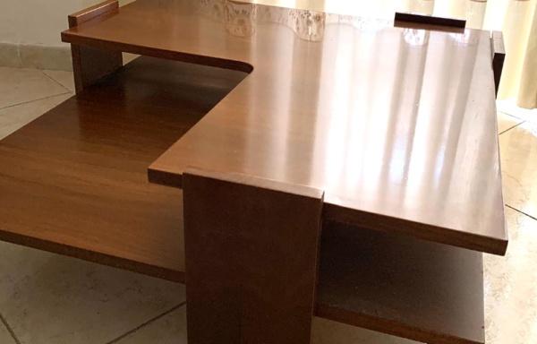 Tavolino angolare basso