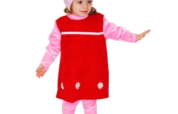 Vestito di Carnevale Piccola Pig TG 2