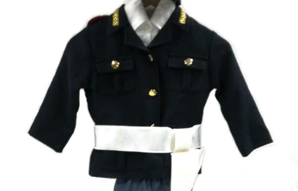 Vestito di Carnevale Poliziotta TG 3