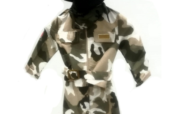 Vestito di Carnevale Militare TG 2