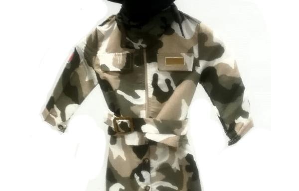 Vestito di Carnevale Militare TG 3
