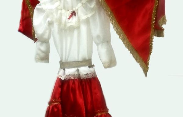 Vestito di Carnevale Gitana TG 2