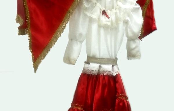 Vestito di Carnevale Gitana TG 1