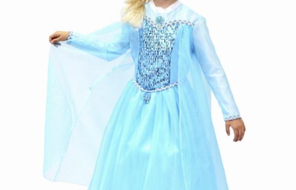 Vestito Principessa della Neve TG L