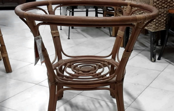 Struttura tavolino in bamboo