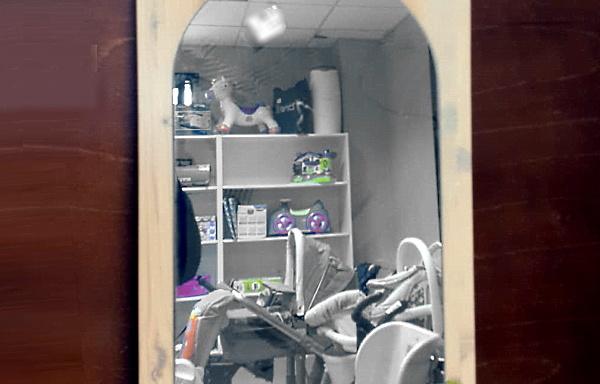 Specchio per cameretta