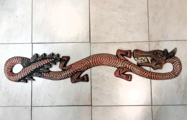 Scultura etnica Drago