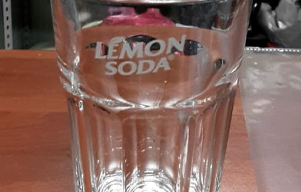 6 bicchieri brand Lemon Soda